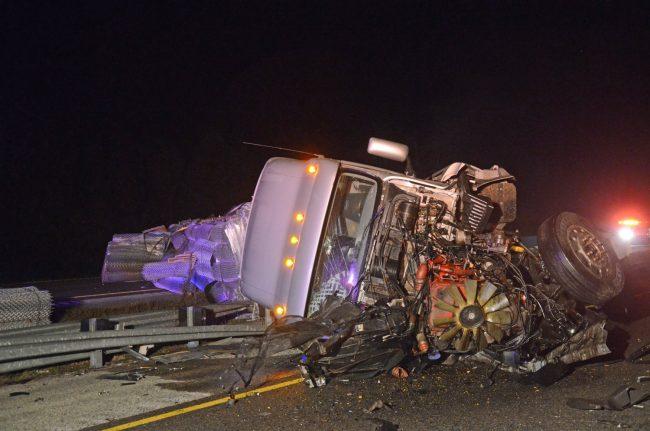 truck crash i-95