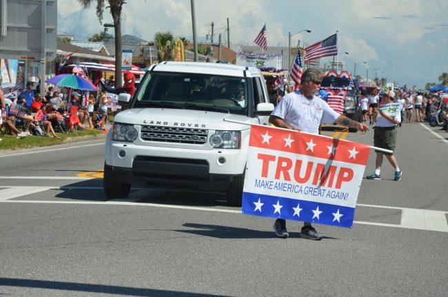 trump parade