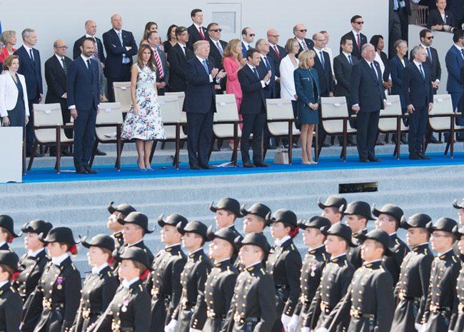 trump military parades