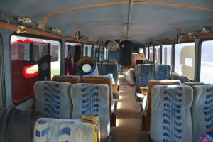 trump campaign bus iowa