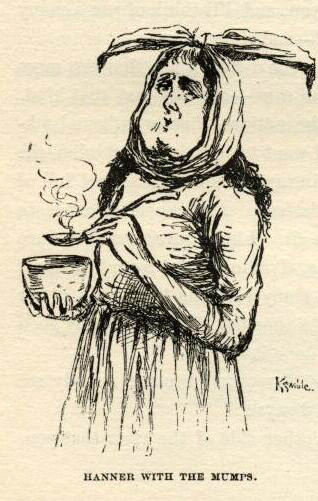 mark twain huckleberry finn full text e.w. kemble illustrations chapter 28