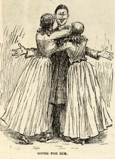 huckleberry finn mark twain e.w.ke.mble illustrations chapter 25