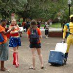 "Turlington Plaza, a University of Florida ""free speech zone."" (Jeff Stevens)"