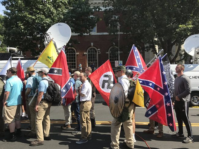What Scott doesn't want in Gainesville: another display of bigotry as in Charlottesville this summer. (Anthony Crider)