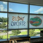 The view at the University of Florida. (© FlaglerLive)