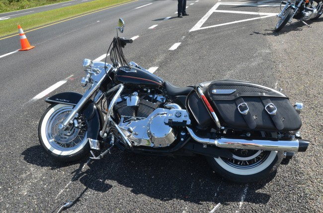 Harville's bike. Click on the image for larger view. (© FlaglerLive)
