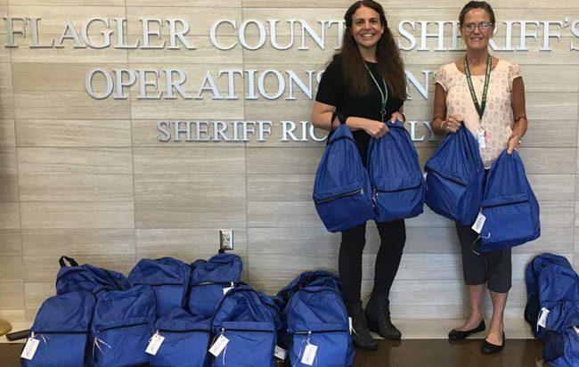 Flagler County Sheriff's Victim's Advocates: Mary Dinardi and Kathy Vazquez. (FCSO)