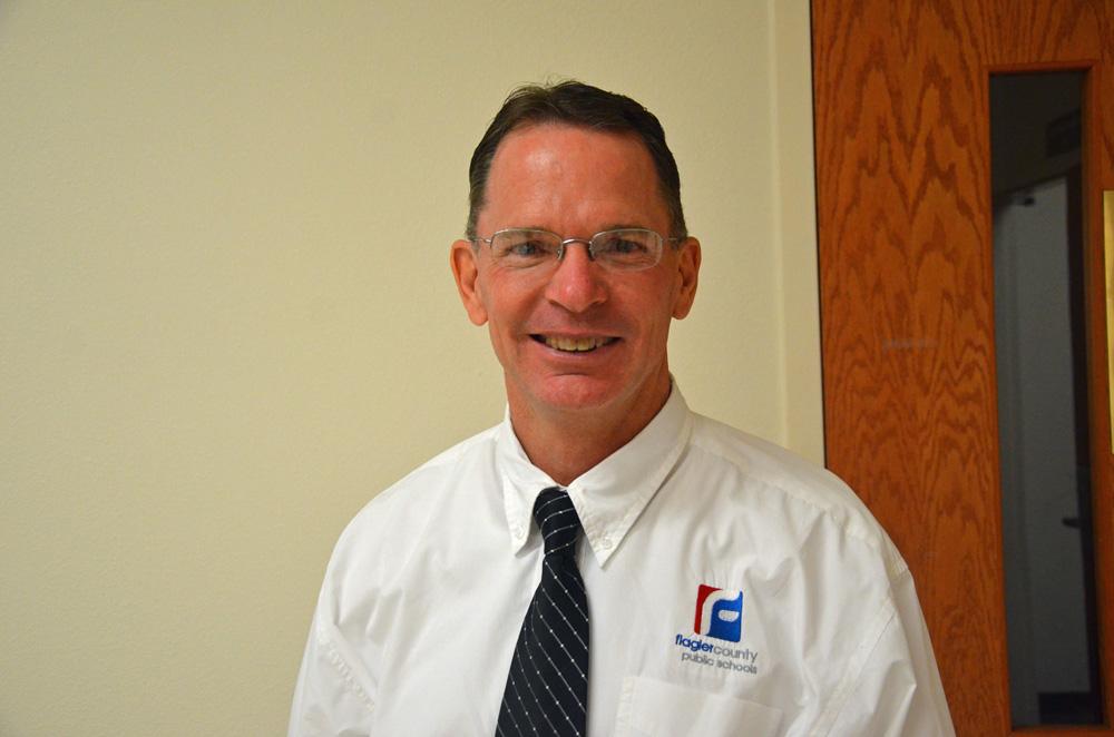 Vernon Orndorff fell a vote short of being Flagler's superintendent in 2017. He's applying again. (© FlaglerLive)