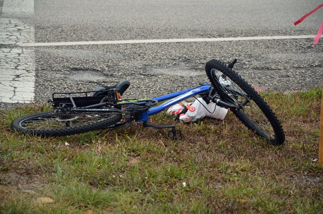 bicycle crash belle terre parkway