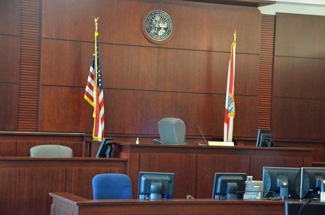 In Flagler County, victims routinely do so, and judges ask, during plea agreements and at sentencing, whether victims have been consulted. Victims also routinely address the court during sentencing hearings. (© FlaglerLive)