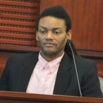 Victor Williams was on the stand for two and a half hours today. (© FlaglerLive)
