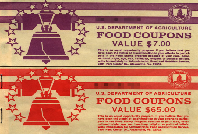 If Republicans get their way, the food stamps program as it is now now could become as much a relic as these old food stamp books. (NCReedplayer)