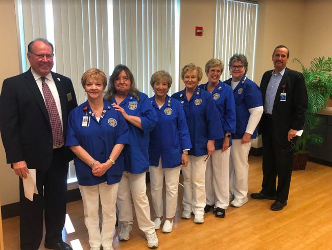 advent health palm coast volunteer auxiliary board 2019