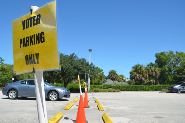 Still an issue to at least one person in Flagler County. (© FlaglerLive)