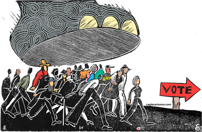 Voter suppresion