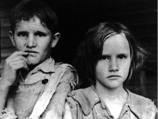 Walker Evans would think not much has changed today.