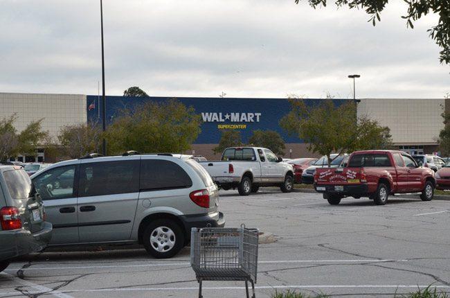 walmart parking lot robbery