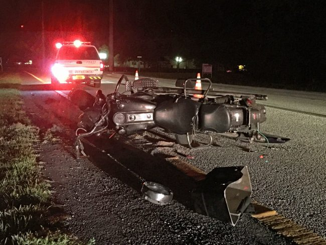 walter forehand jr motorcycle wreck