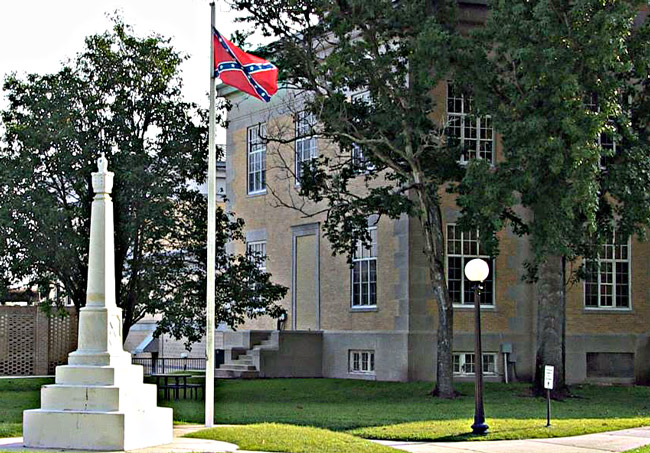 confederate flag walton county commission