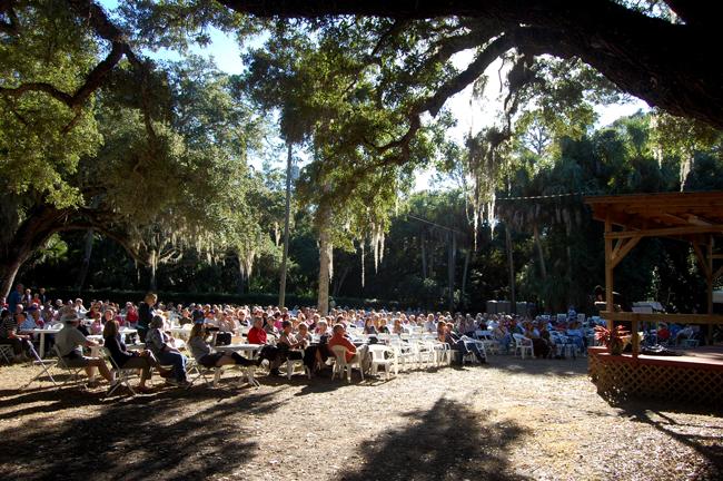 Washington Oaks Gardens State Park has many friends. (© FlaglerLive)