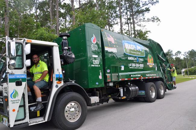waste pro palm coast contyract