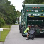 Two-thirds of residents like their garbage service in palm Coast. (© FlaglerLive)