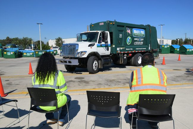 Waste Pro is focusing on developing new CDL drivers and shortening its routes. (Waste Pro)