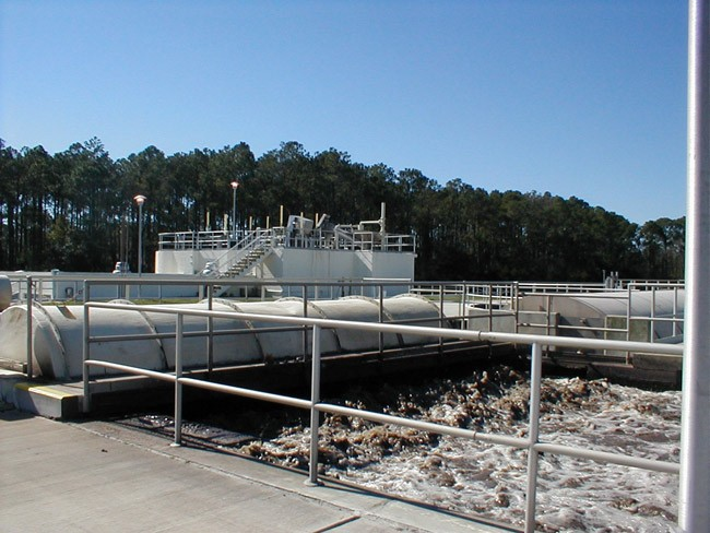 wastewater treatment plant palm coast