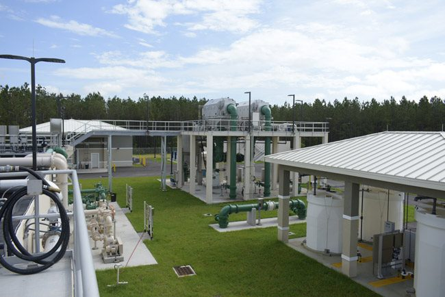 palm coast sewer plant