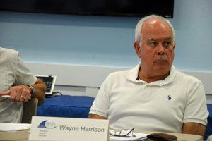 Advisory Board member Wayne Harrison. (© FlaglerLive)
