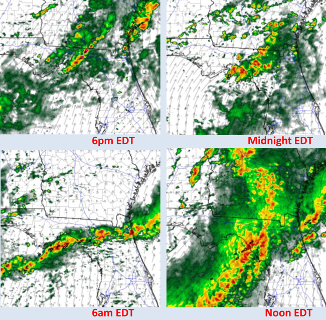 severe weather maps