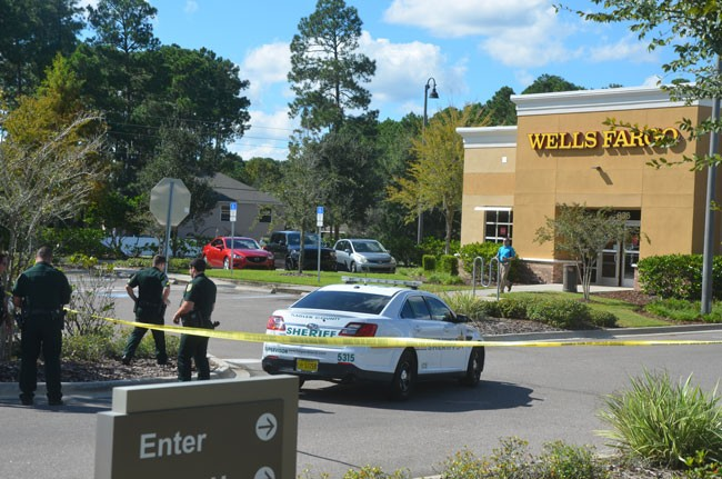 wells fargo bank robbery palm coast