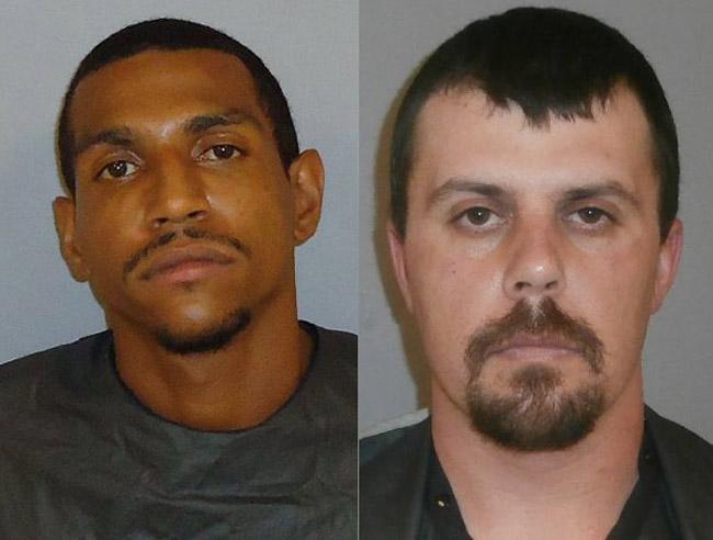 Robert Wells, left, and Jason Lambert.