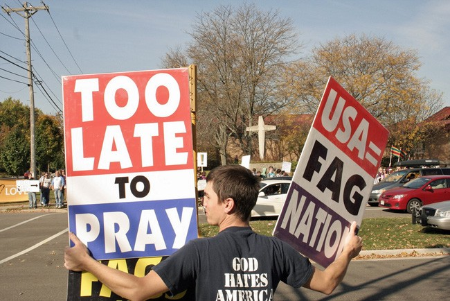 The bigotry of Westboro Baptist Church followers has gone mainstream and into state legislatures. (cometstarmoon)