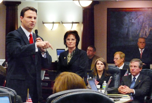 Will Weatherford, the Wesley Chapel Republican and new Speaker of the Florida House, is down on the Florida Retirement System, favoring instead a 401-k-like plan for state employees. (Mark Foley)