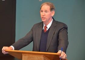 Palm Coast City Attorney Bill Reischmann. (© FlaglerLive)