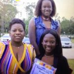 Wilma Williams and her daughters Mozella and Kaleigh, in a Facebook photo. Their lives will be celebrated at a service on Saturday at Palm Coast United Methodist Church's north campus.