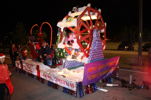 Video Starlight Christmas Parade In Palm Coast S Town