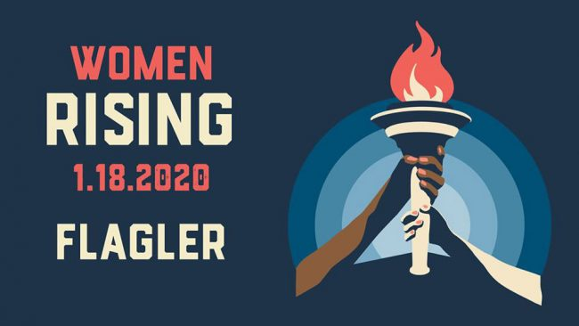 women rising march