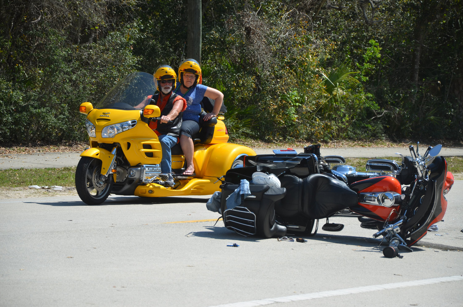 Sixth Serious Bike Week Wreck On A1a Sends 2 To Hospital
