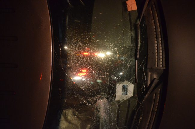 pick-up ford crash
