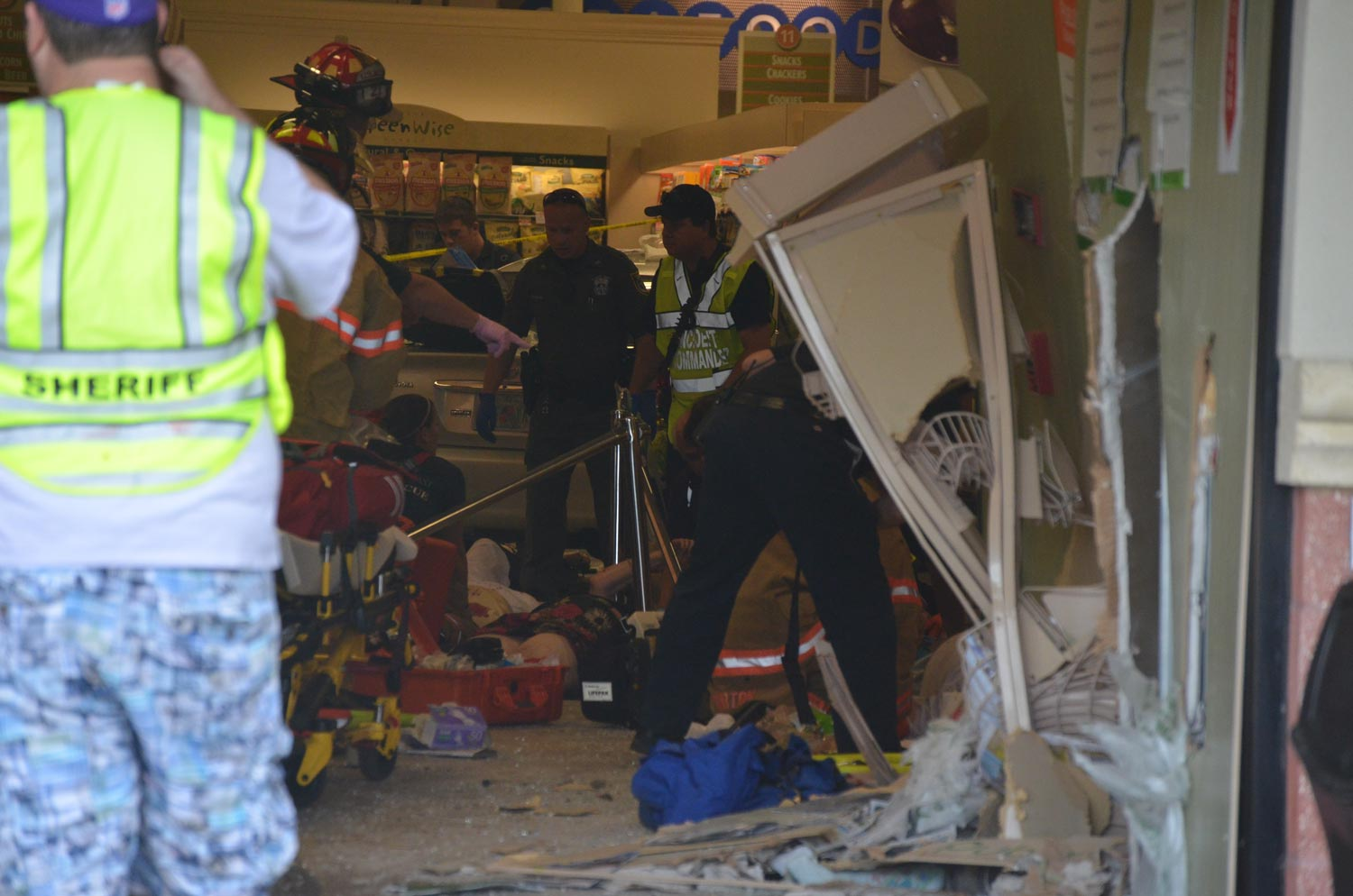 Car Plows Through Publix Entrance At Belle Terre; 10 Injured, But Heroic  Acts, Too | FlaglerLive